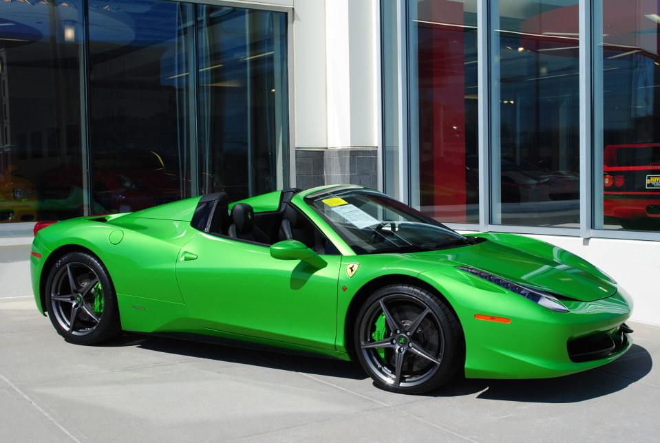 index of wp contentgallerygreen ferrari 458 spider - Ferrari 458 Spider Green