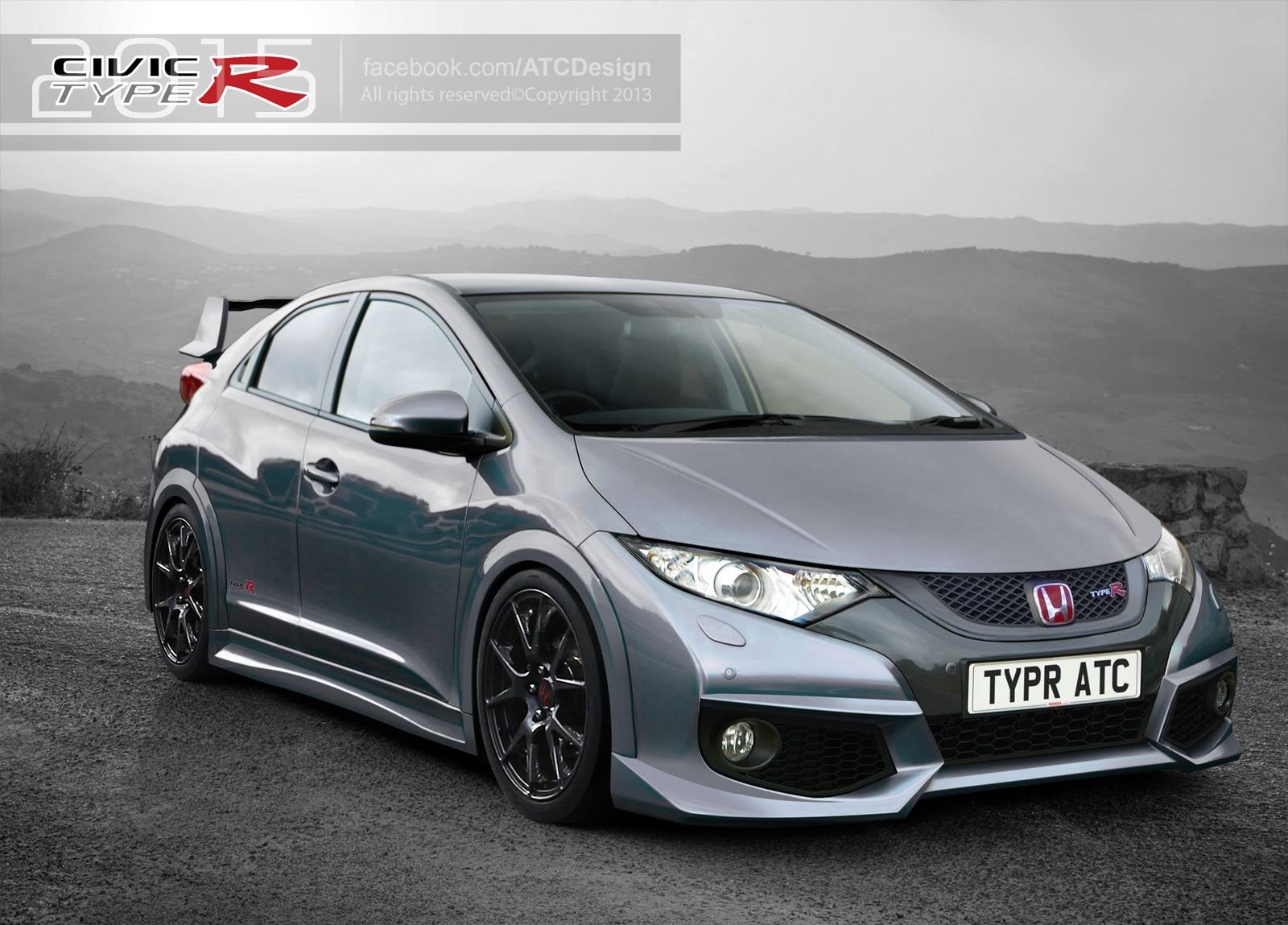 Index Of Wp Content Gallery Honda Civic Type R 2015 Renderings
