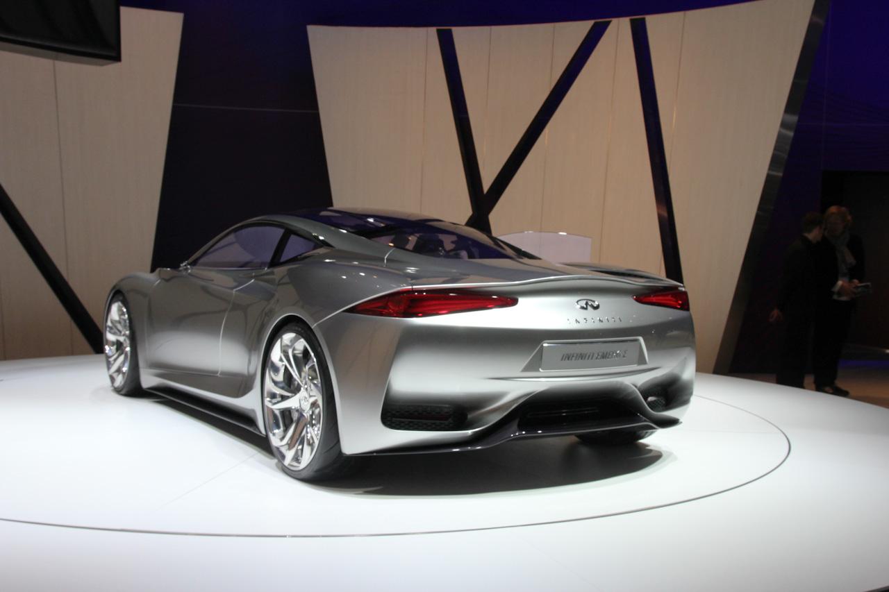 Infiniti Emerg-E Concept Live in Geneva 2012