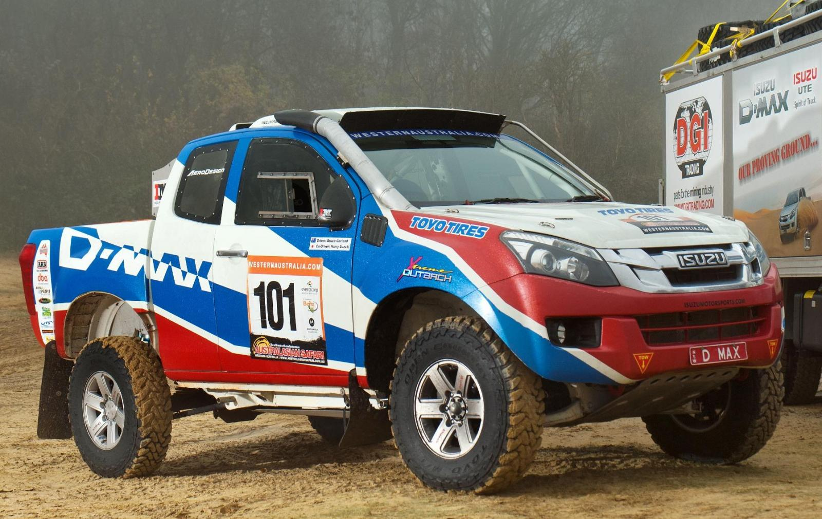 The Motoring World: Isuzu UK to demonstrate the awesome D-Max Rally ...