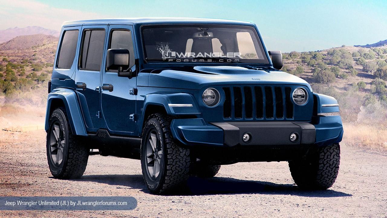 Jeep Wrangler JL 2018 renderings (2)