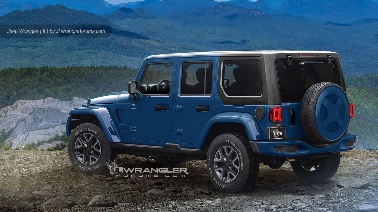 Jeep Wrangler JL 2018 renderings (4)