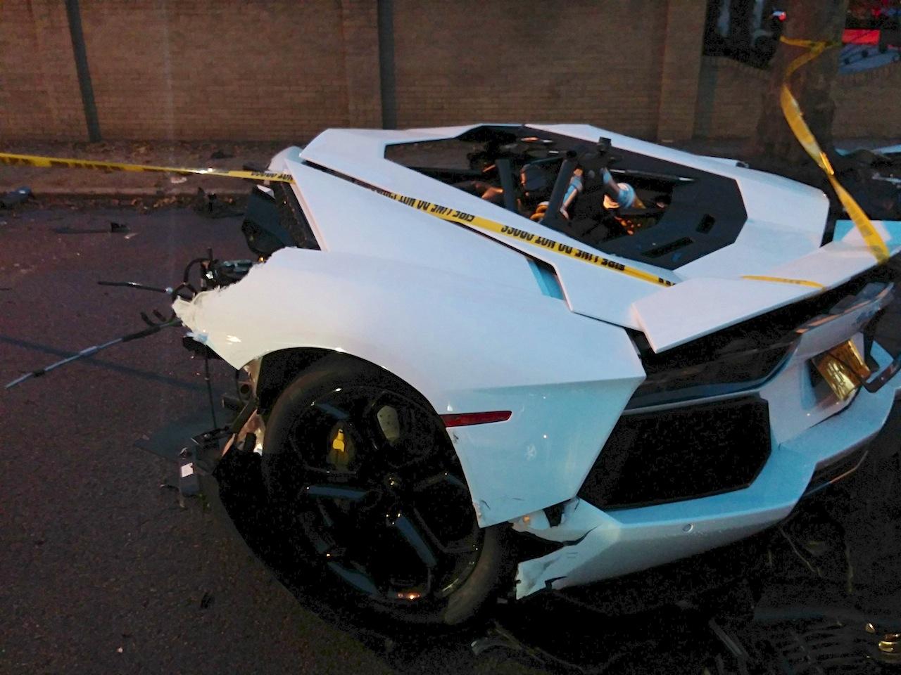 Lamborghini Reventon Crash Lamborghini 2016