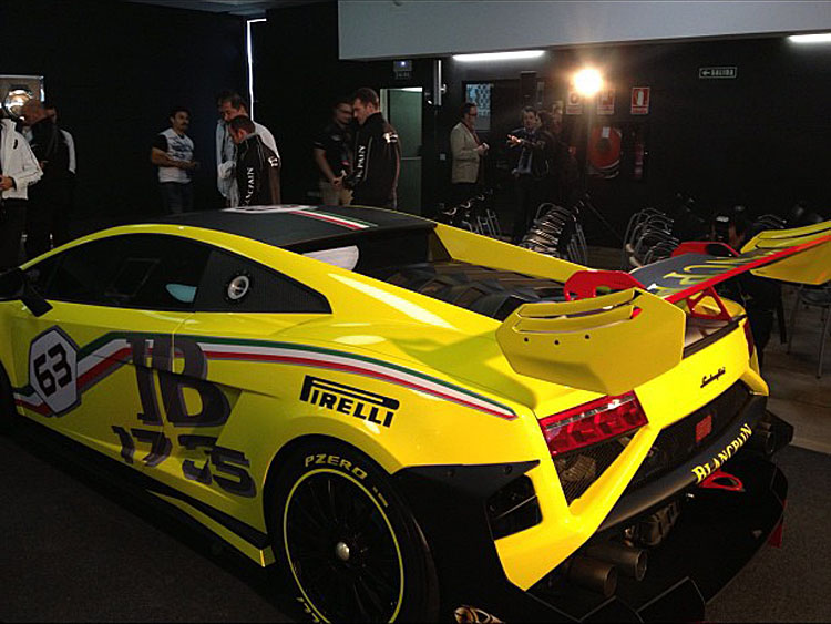 Lamborghini Gallardo Blancpain Super Trofeo 2013 - Autoblog.gr
