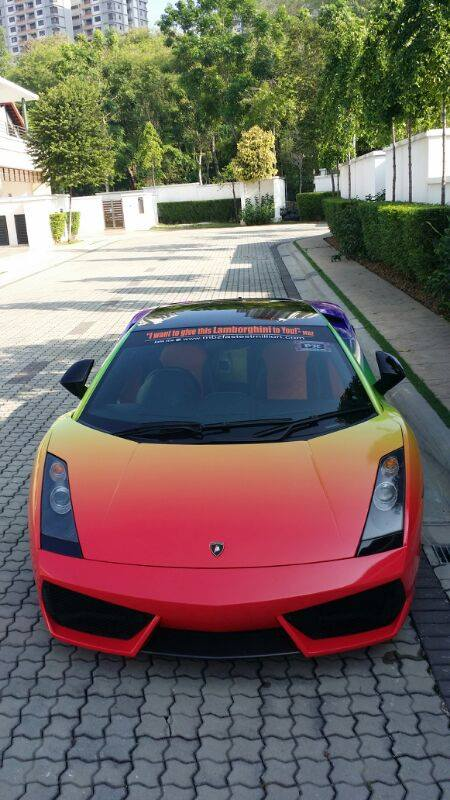 Index Of Wp Content Gallery Lamborghini Gallardo Rainbow