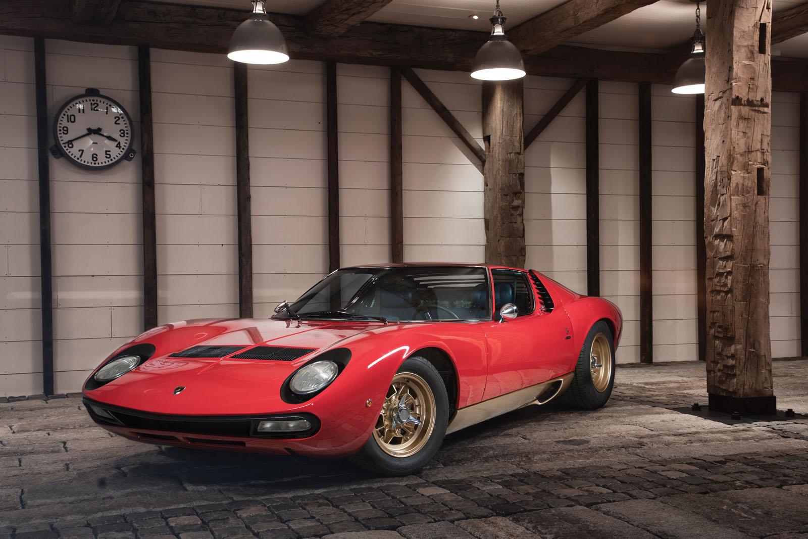 Lamborghini Miura SV in auction (1)