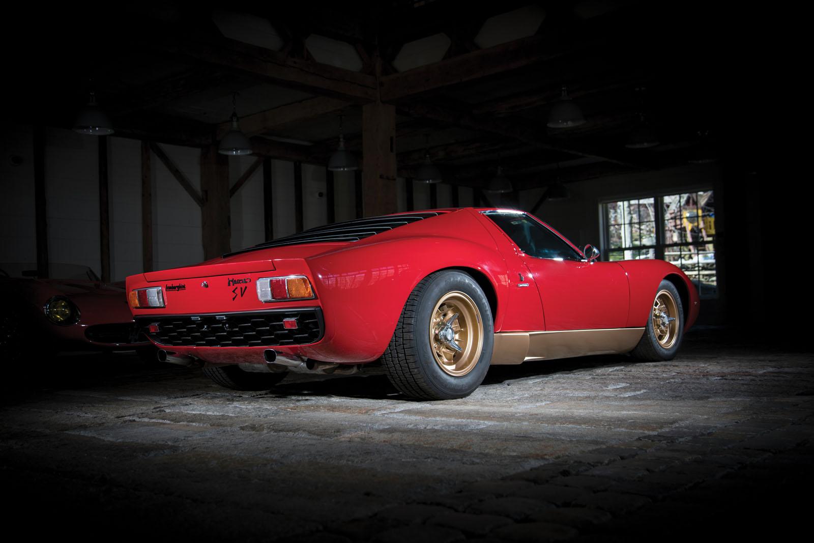 Lamborghini Miura SV in auction (2)