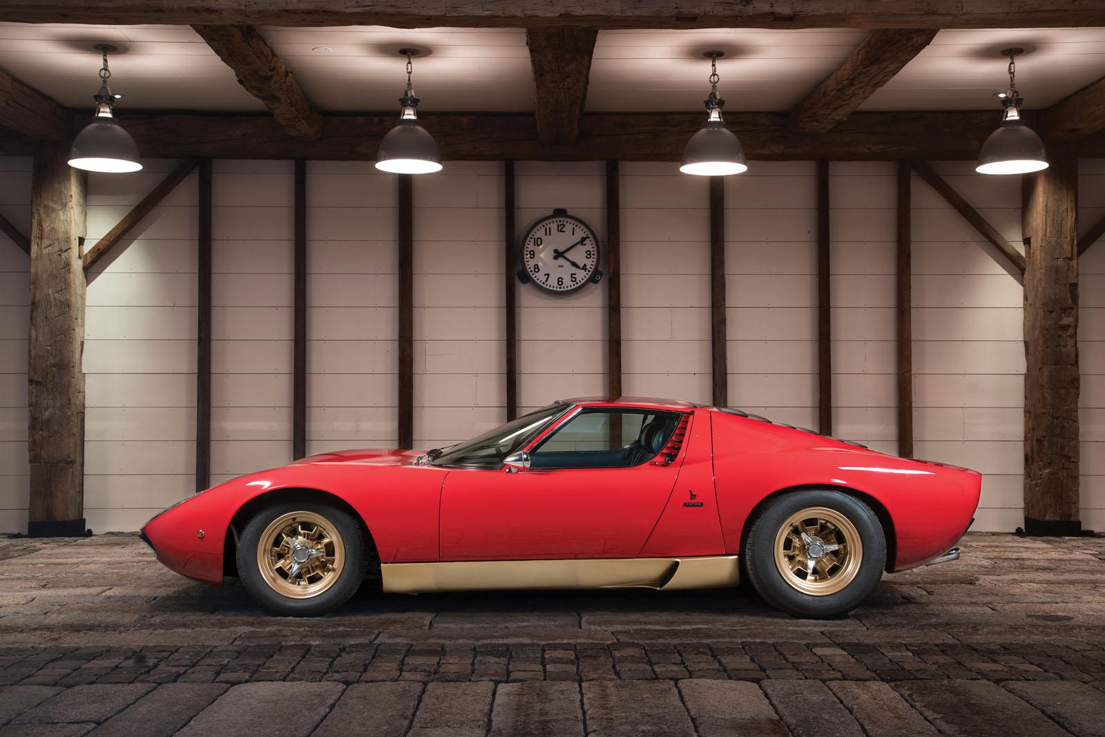 Lamborghini Miura SV in auction (5)