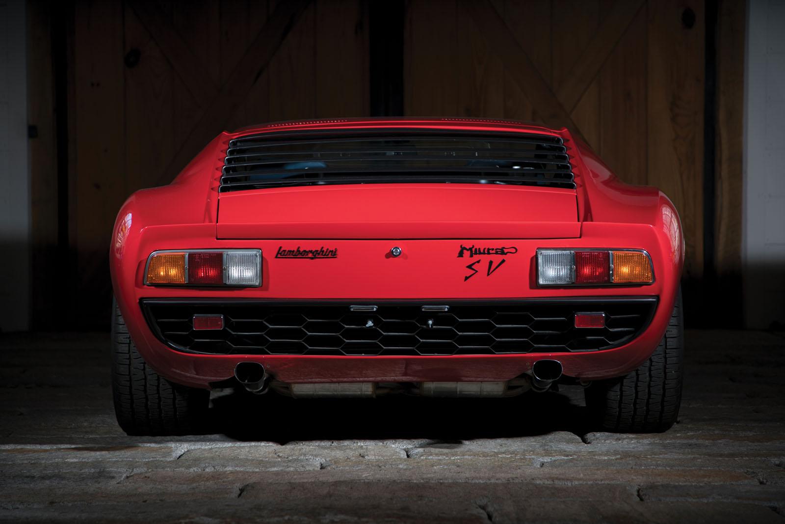 Lamborghini Miura SV in auction (9)