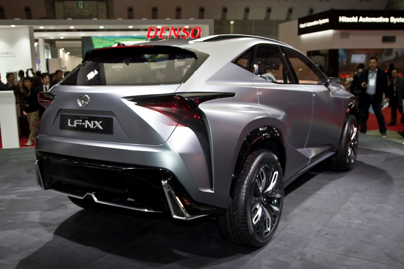 lexus lf nx turbo concept. Black Bedroom Furniture Sets. Home Design Ideas
