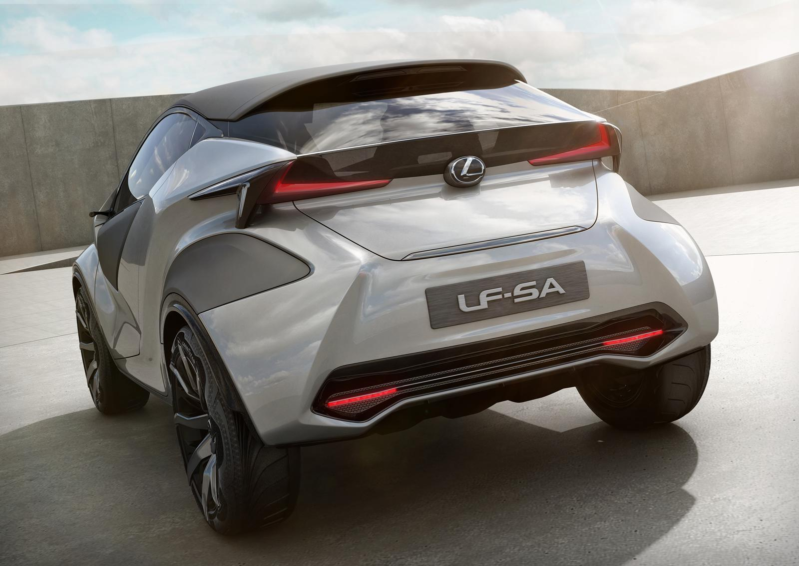 Lexus LF-SA concept 17