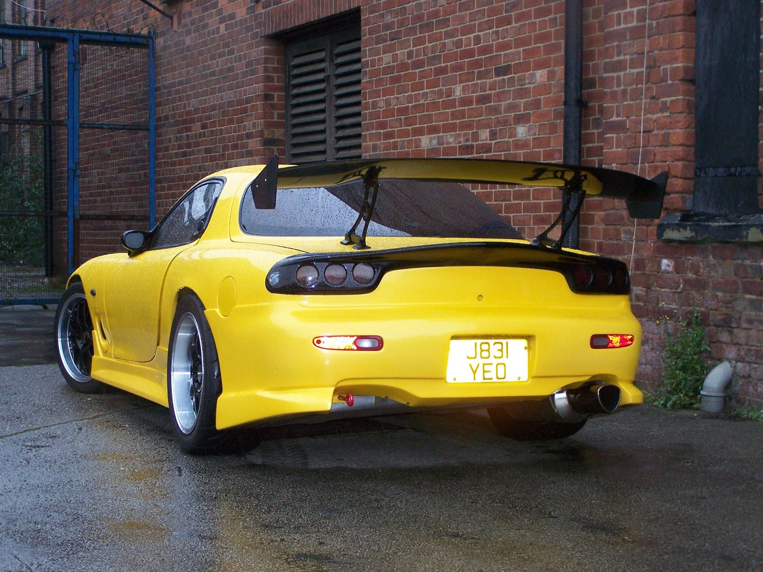 mazda rx7 fd by compact. Black Bedroom Furniture Sets. Home Design Ideas
