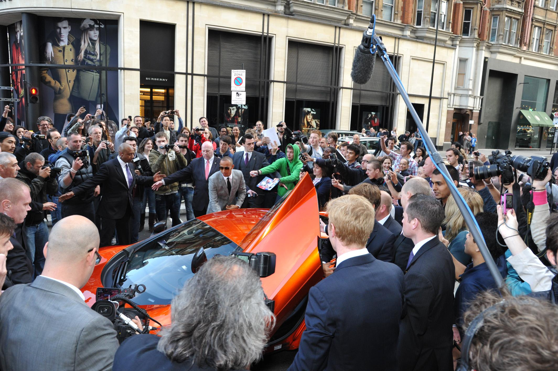 With opening of prestigious mclaren london showroom at one hyde park
