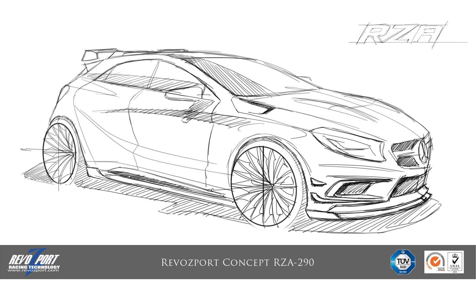 Mercedes A Class By Revozport 290 ά Autoblog Gr