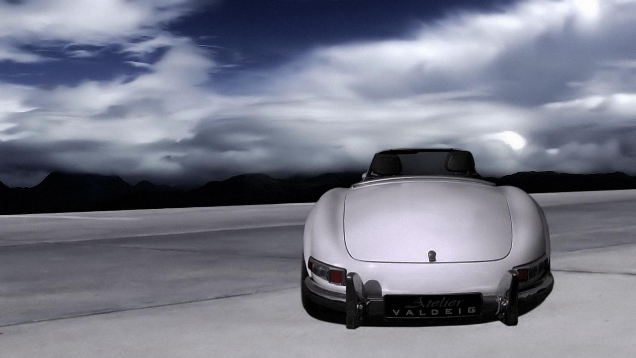 mercedes benz 300 sl roadster by atelier valdeig. Black Bedroom Furniture Sets. Home Design Ideas