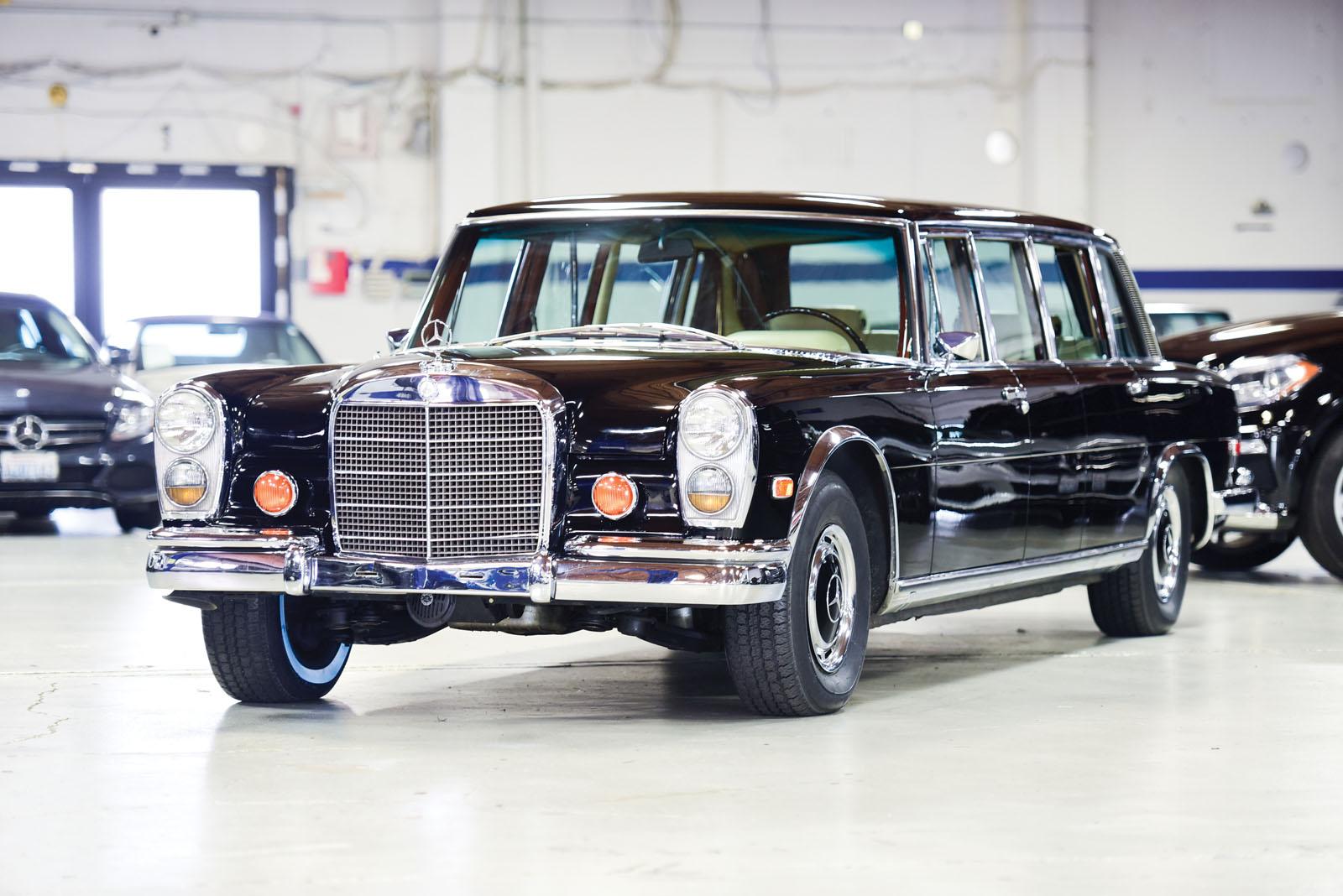 Mercedes-Benz 600 Pullman 1968 in auction (1)