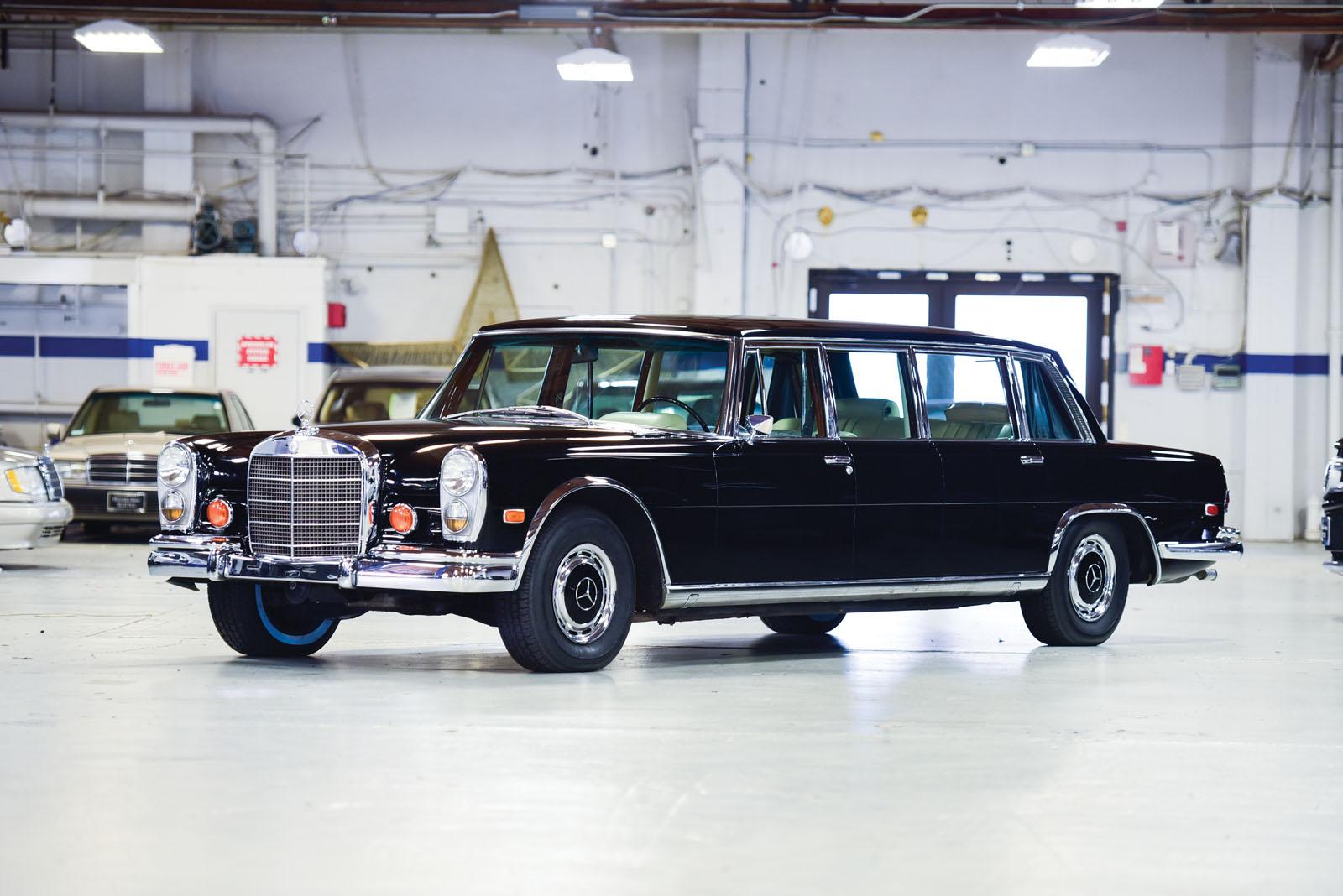 Mercedes-Benz 600 Pullman 1968 in auction (2)