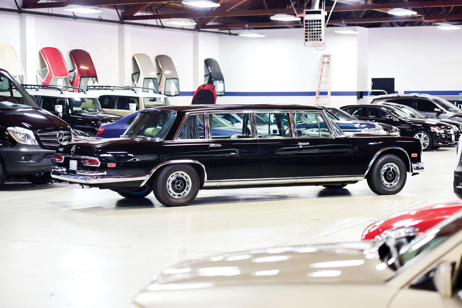 Mercedes-Benz 600 Pullman 1968 in auction (3)