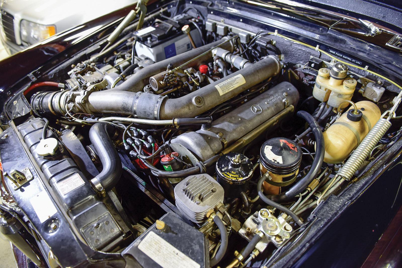 Mercedes-Benz 600 Pullman 1968 in auction (4)