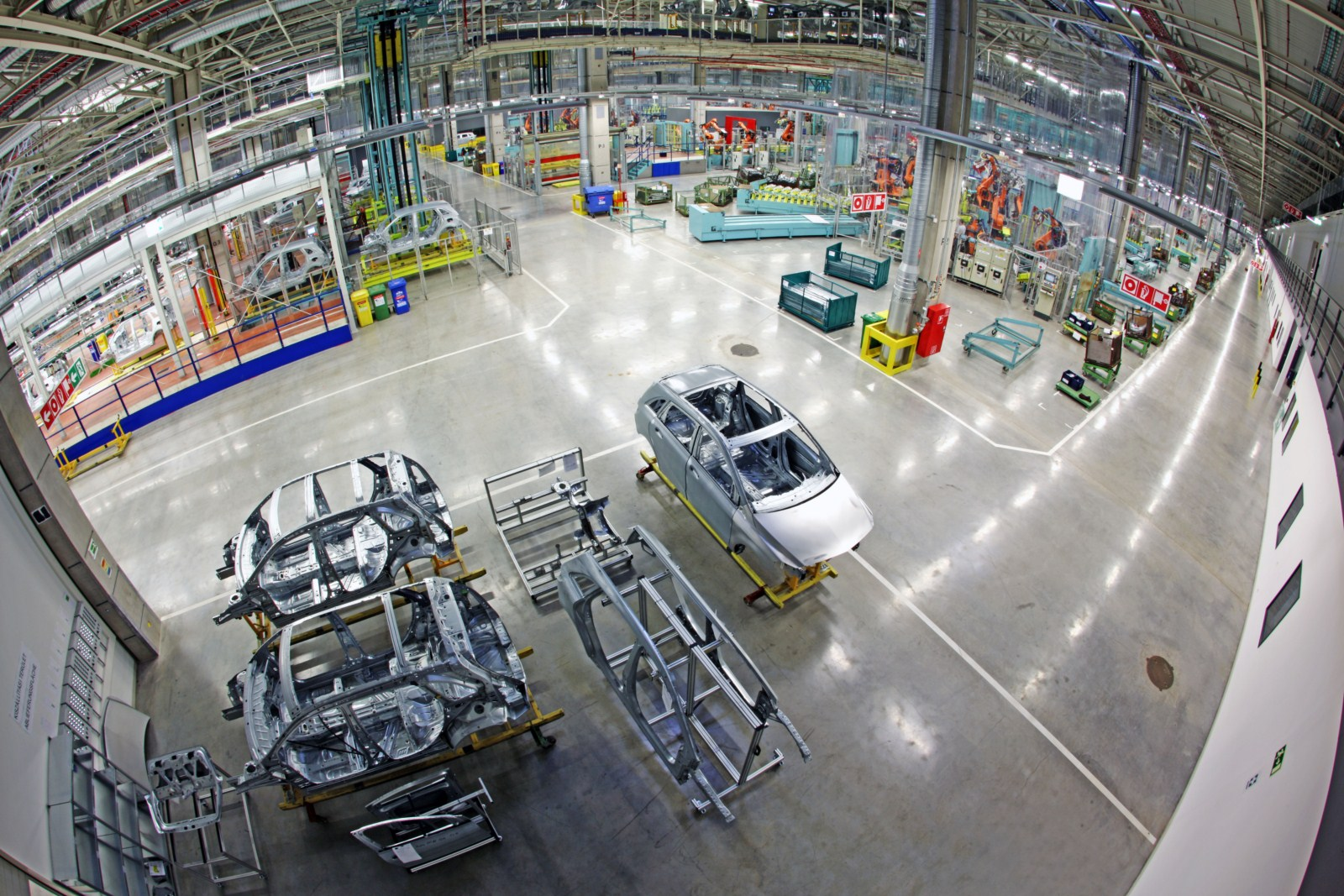 mercedes assembly plants