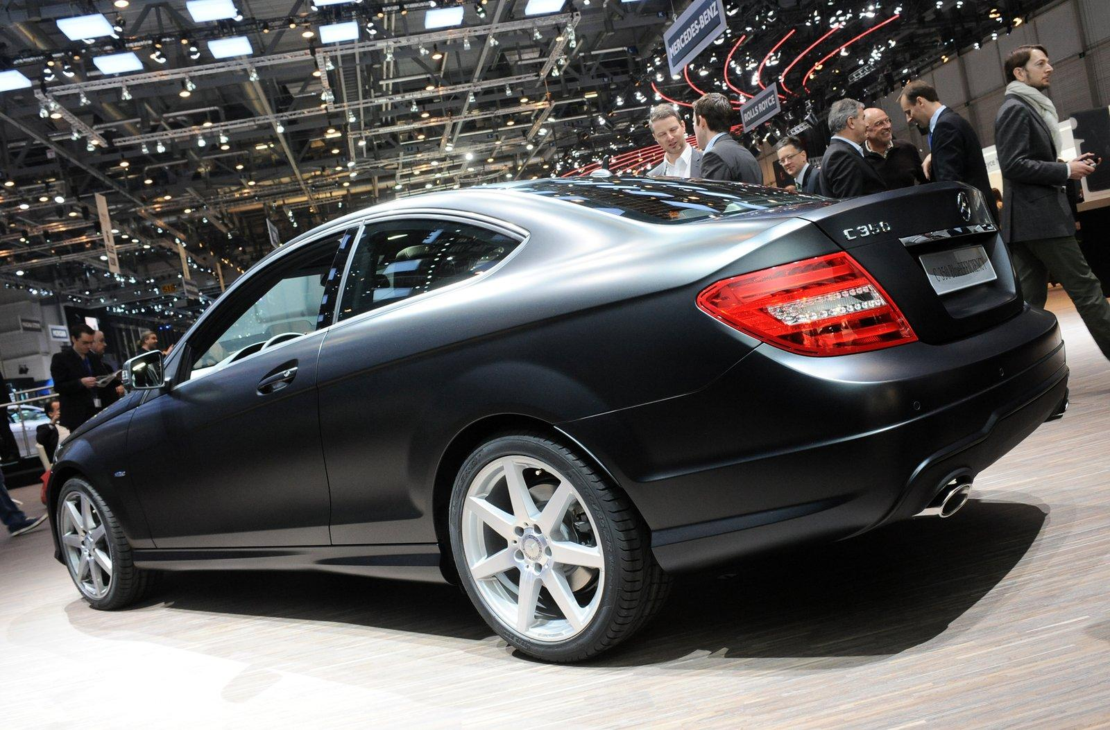 2011 mercedes benz c class coupe 2012. Black Bedroom Furniture Sets. Home Design Ideas