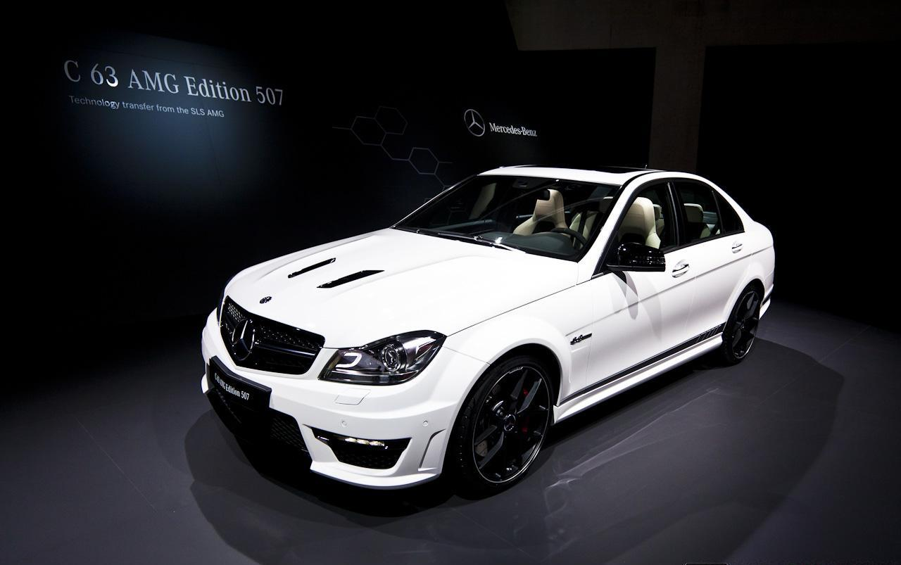 Salon De Gen 232 Ve 2013 Mercedes C63 Amg Edition 507 Dark