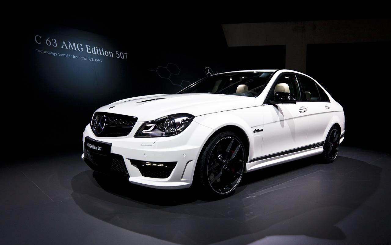 2013 mercedes benz c63 amg edition 507. Black Bedroom Furniture Sets. Home Design Ideas