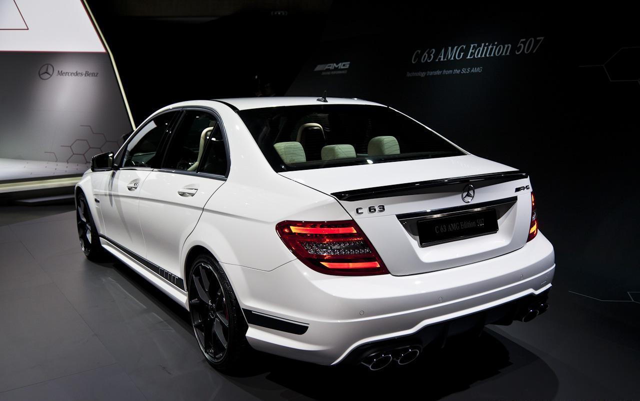 Έ ύ 2013 Mercedes Benz C63 Amg Edition 507