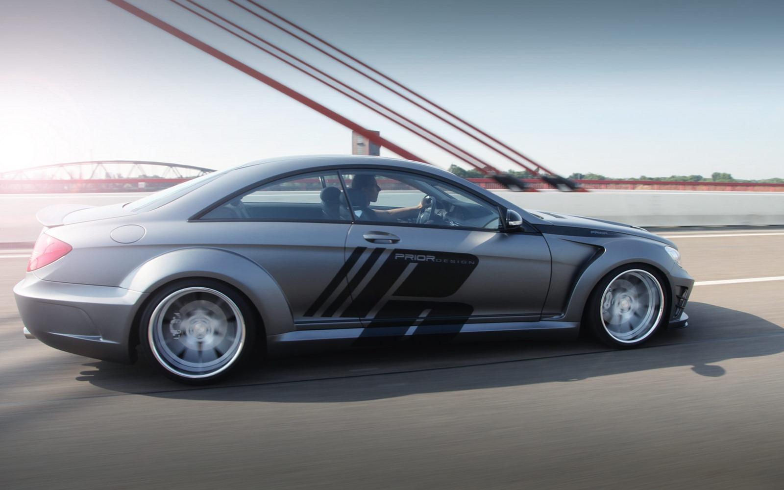 Mercedes cl class by prior design for Mercedes benz design