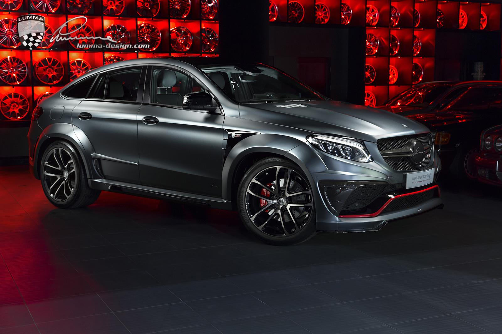 Mercedes-Benz GLE Coupe by Lumma Design (1)