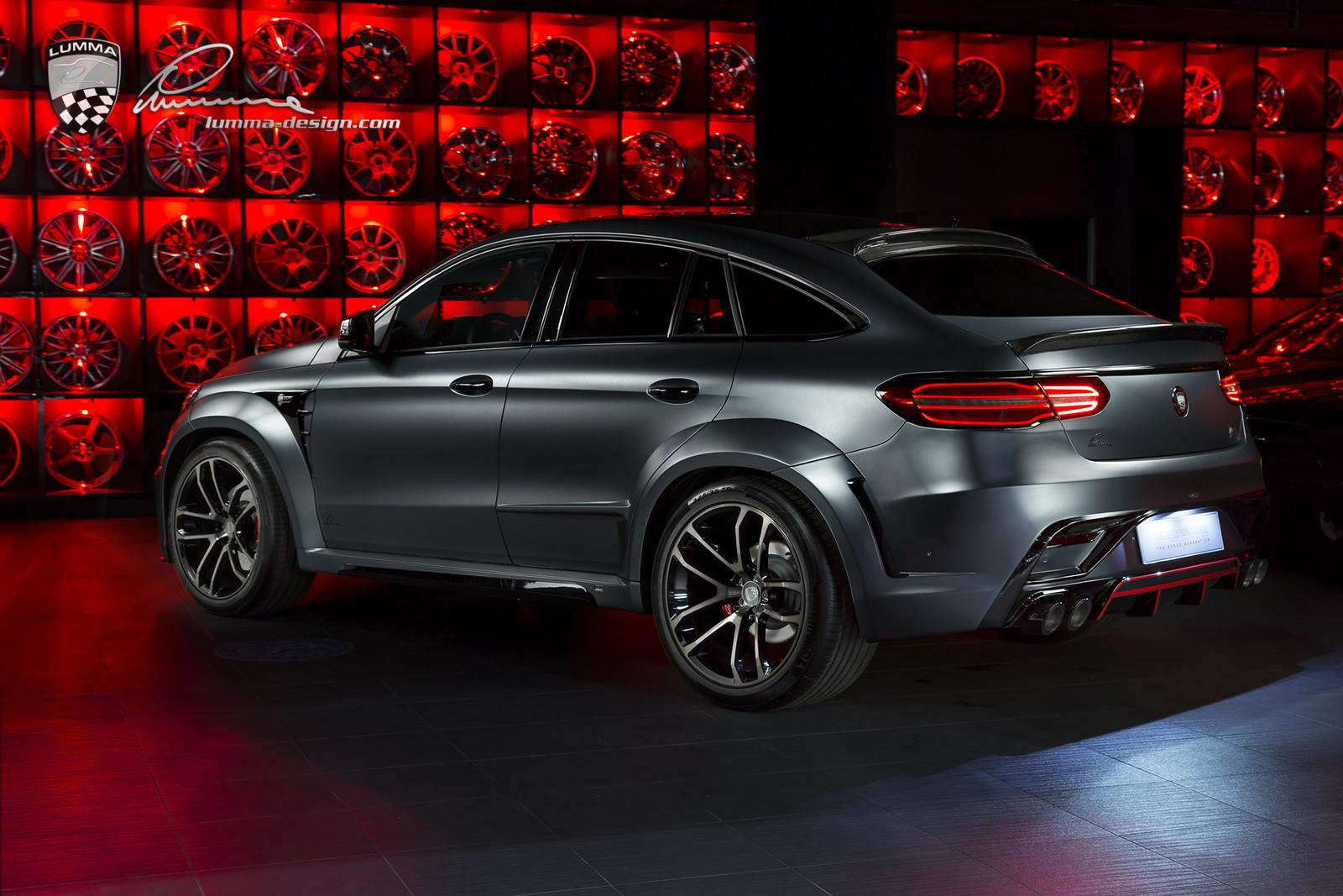 Mercedes-Benz GLE Coupe by Lumma Design (2)