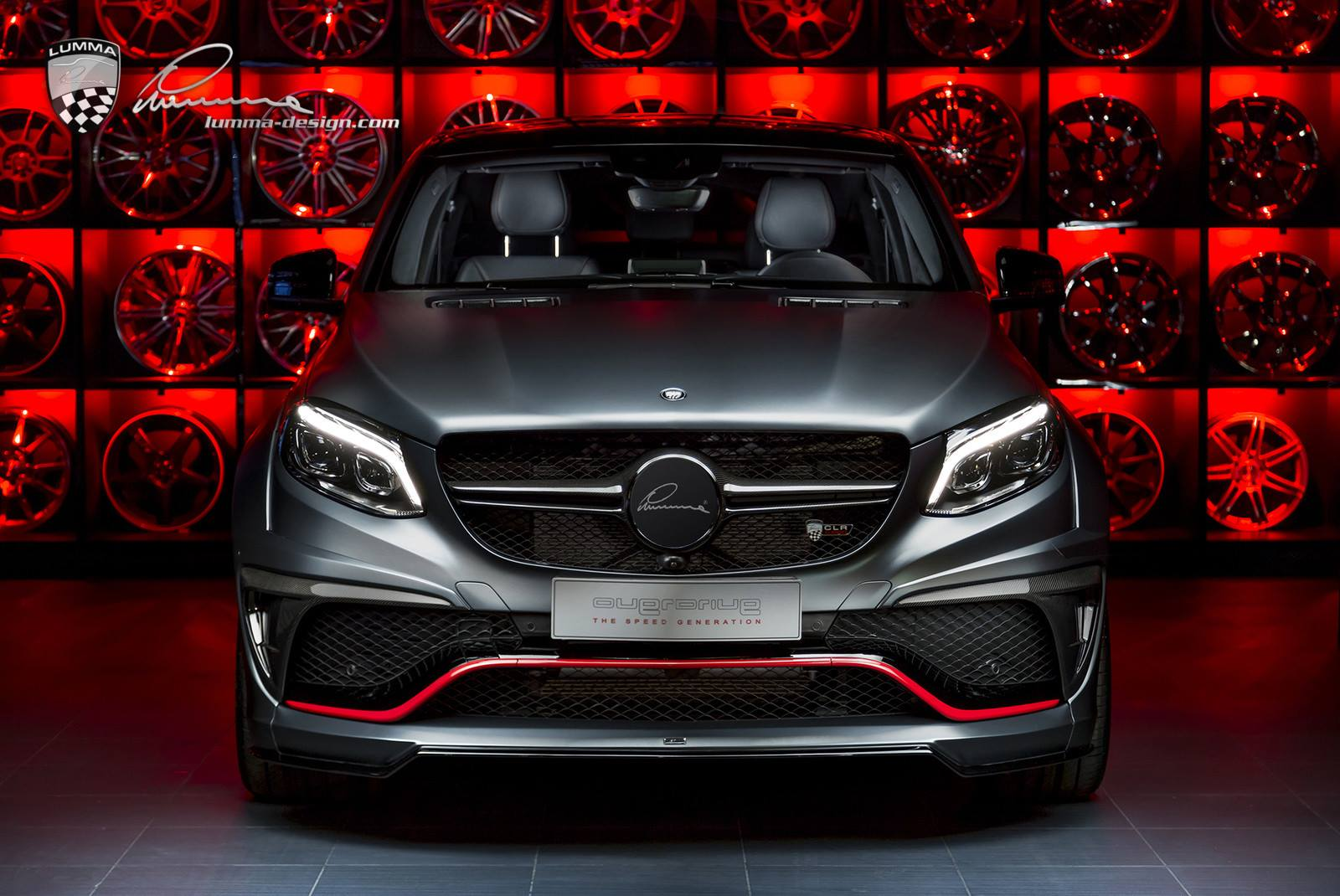 Mercedes-Benz GLE Coupe by Lumma Design (3)