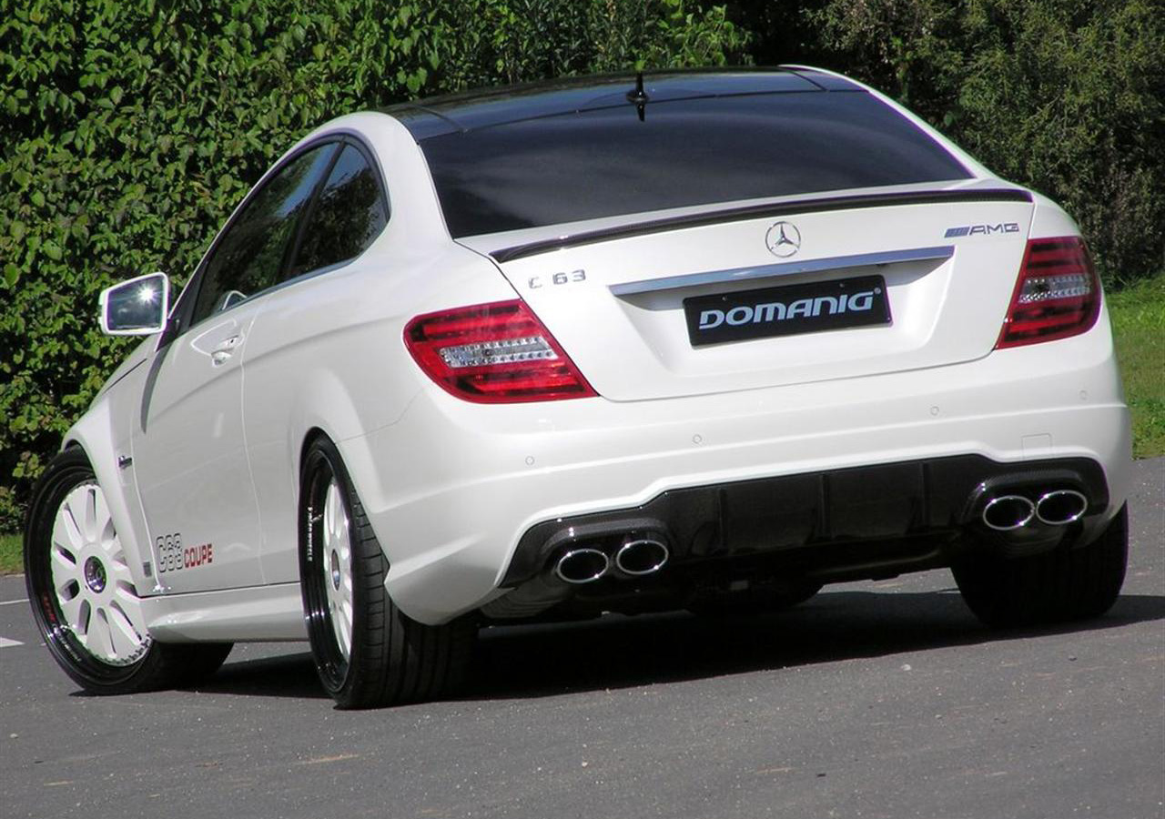 Mercedes C63 Amg Coupe By Domanig Autoblog Gr