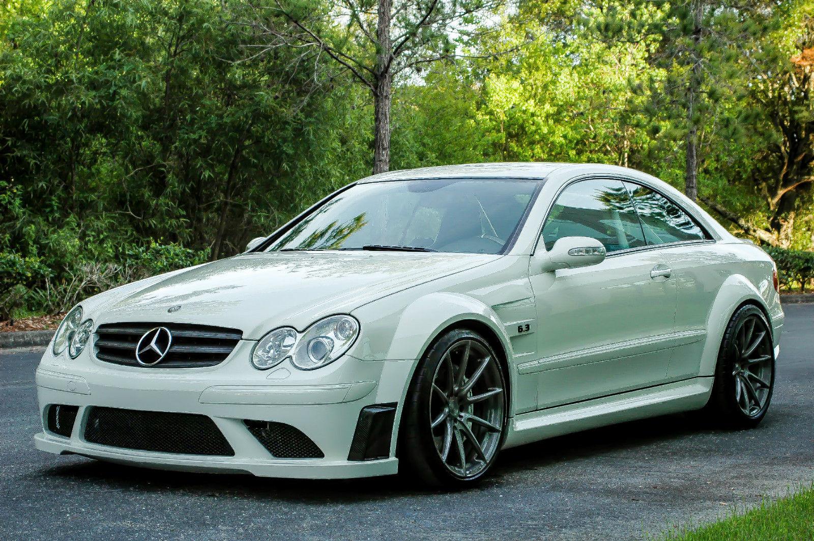 Mercedes benz clk 63 amg black series for Mercedes benz clk63 amg black series