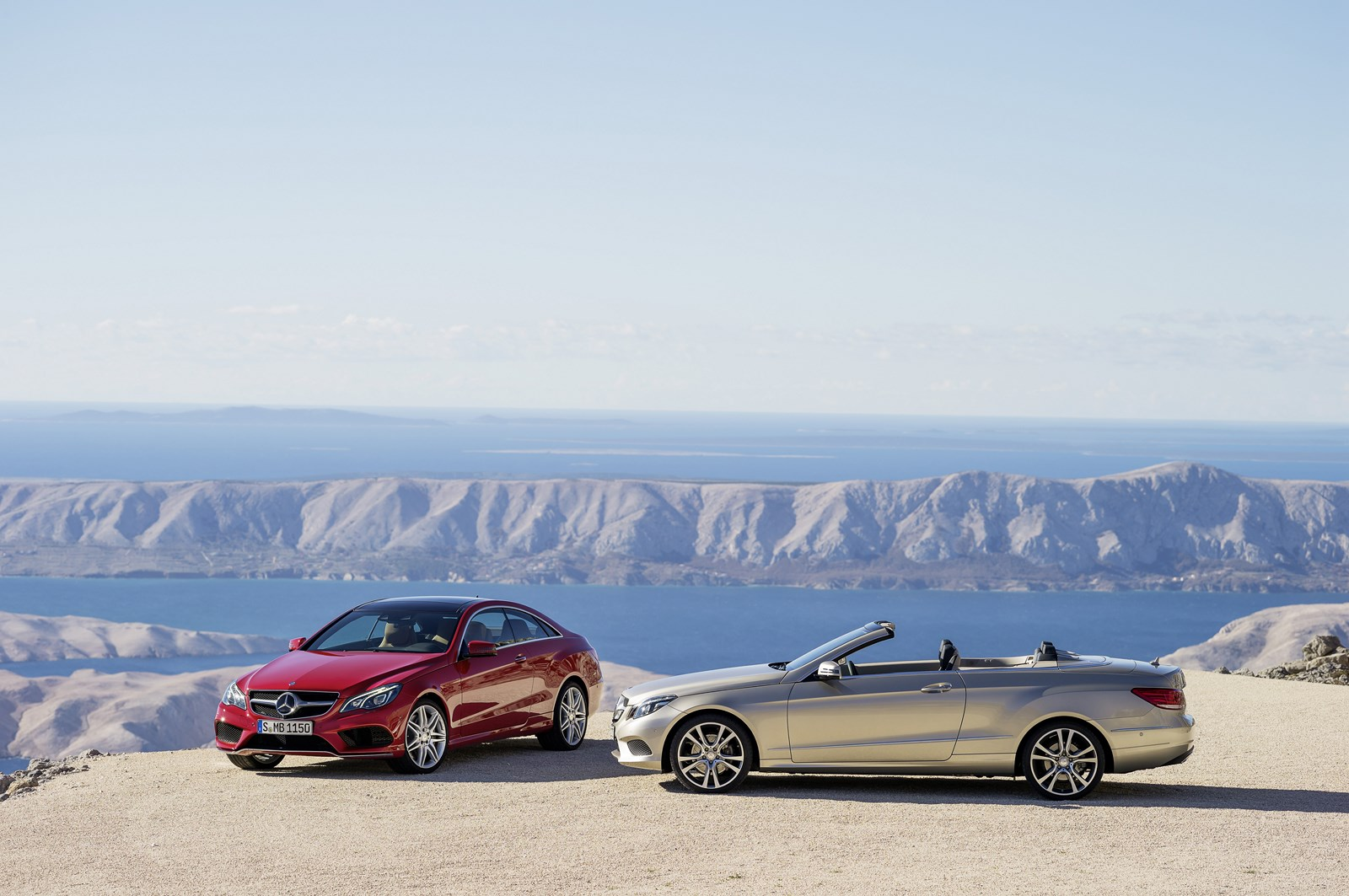 Mercedes EClass Coupe and Cabriolet facelift  Auto Express