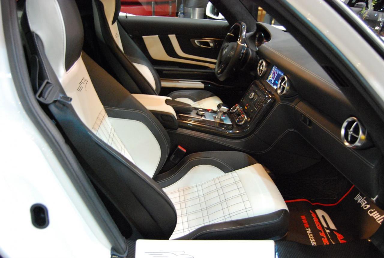 Mercedes Sls Amg Tuned By Fab Design Autoblog Gr