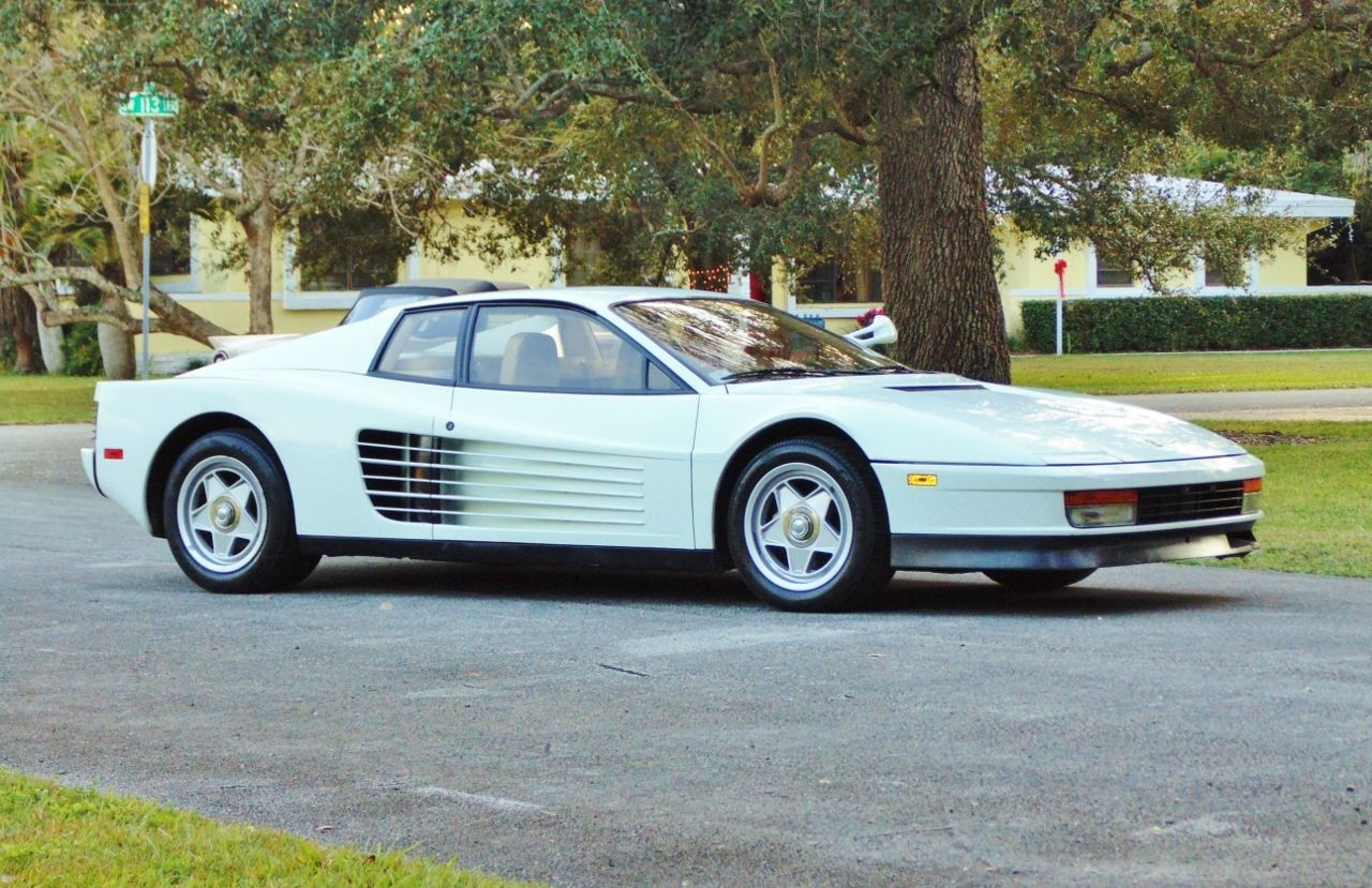 Miami Vice Ferrari Testarossa For Sale (1)