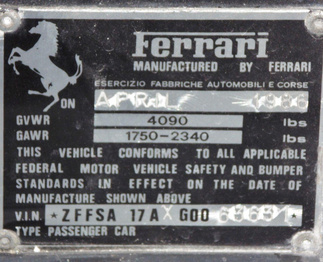Miami Vice Ferrari Testarossa For Sale (2)