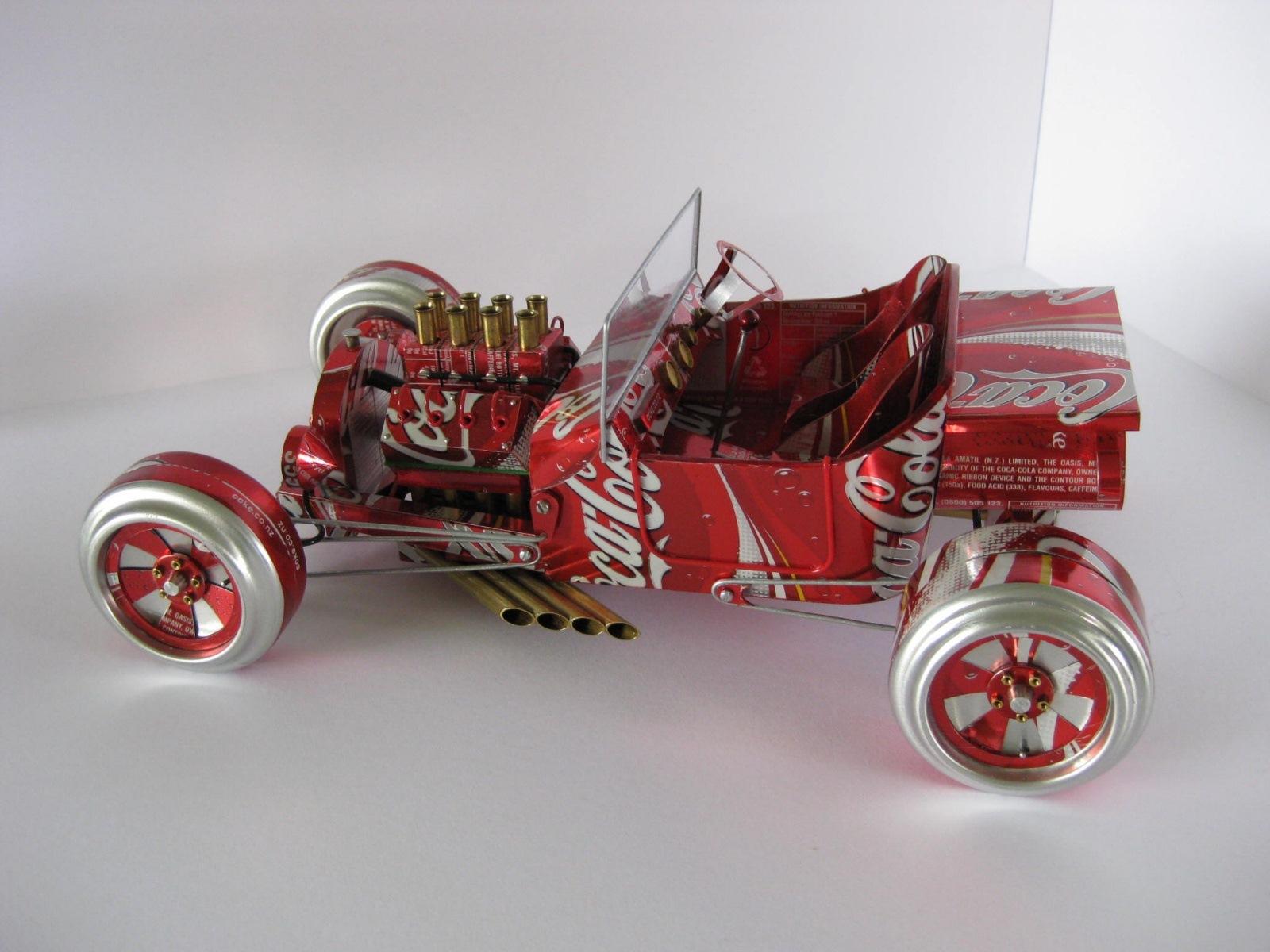 Miniature Cars From Aluminum