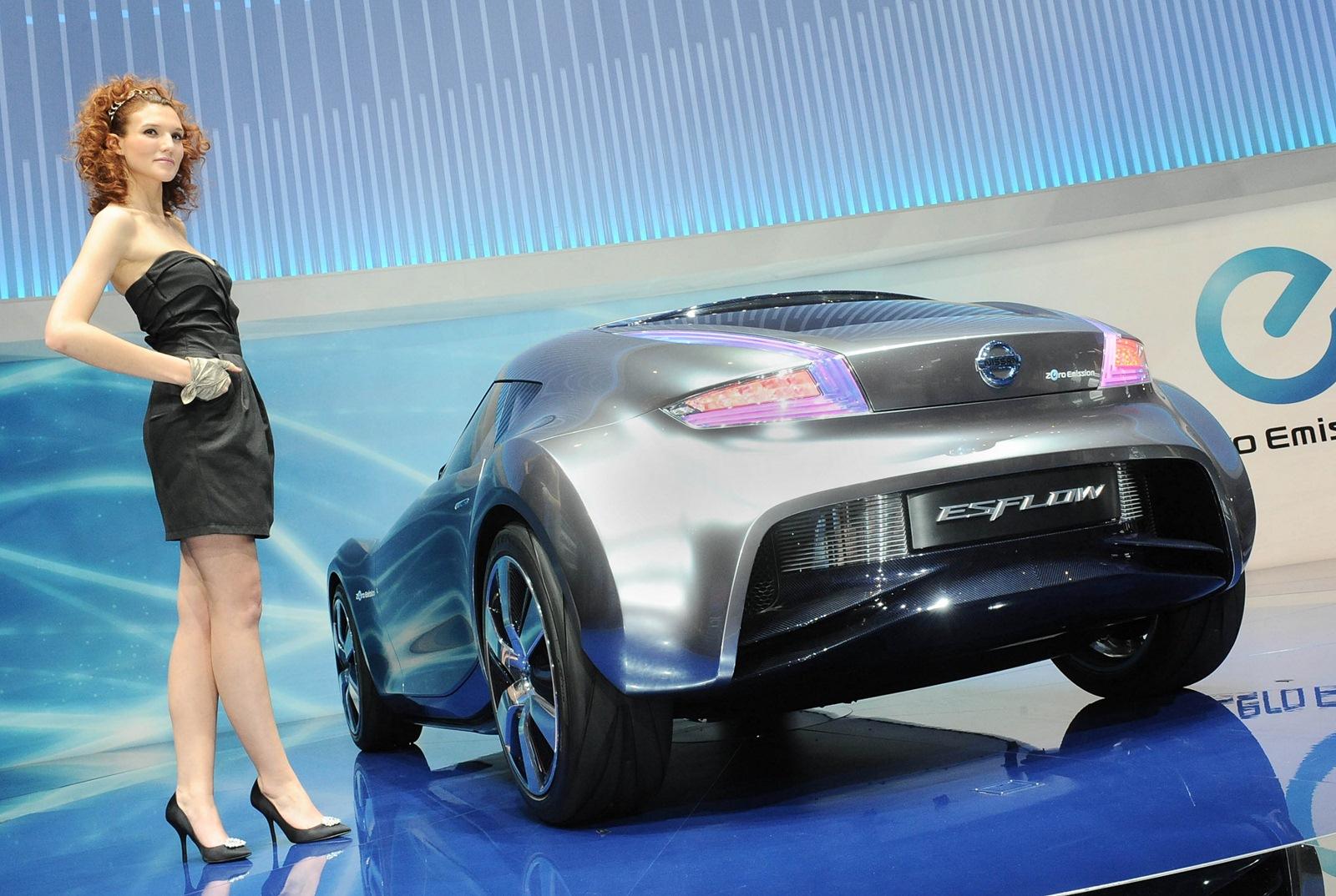 2011 nissan esflow concept   autoblog gr