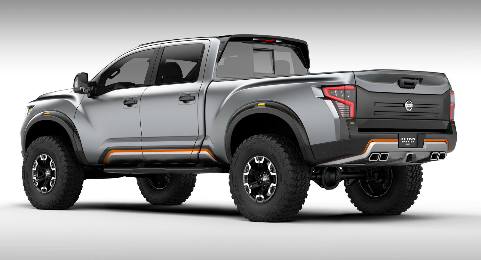 Titan Auto Sales >> Επίσημο: Nissan Titan Warrior concept - Autoblog.gr