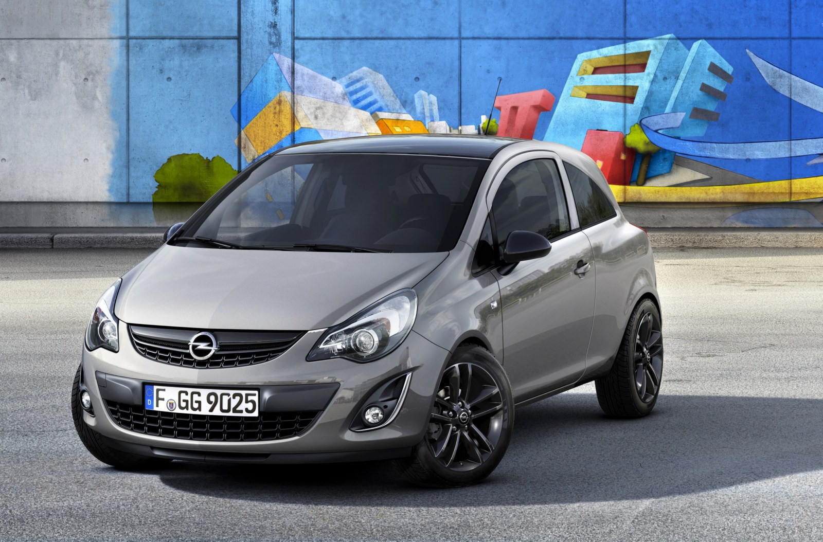 opel corsa kaleidoscope edition. Black Bedroom Furniture Sets. Home Design Ideas
