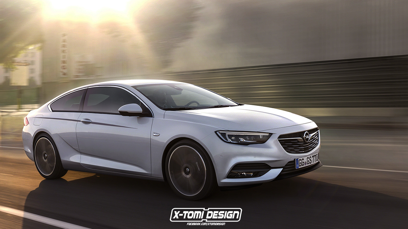Opel Insignia Grand Coupe OPC    renderings