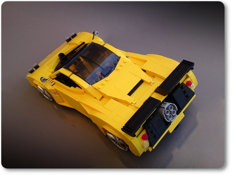 Pics Photos - Lego Replica For The Pagani Zonda C12 S