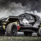 The Peugeot 2008 DKR during the first test in Freneuse, France on June 28th, 2014  Peugeot returns to Dakar 2015 // Flavien Duhamel/Red Bull Content Pool // P-20140703-00043 // Usage for editorial use only // Please go to www.redbullcontentpool.com for further information. //