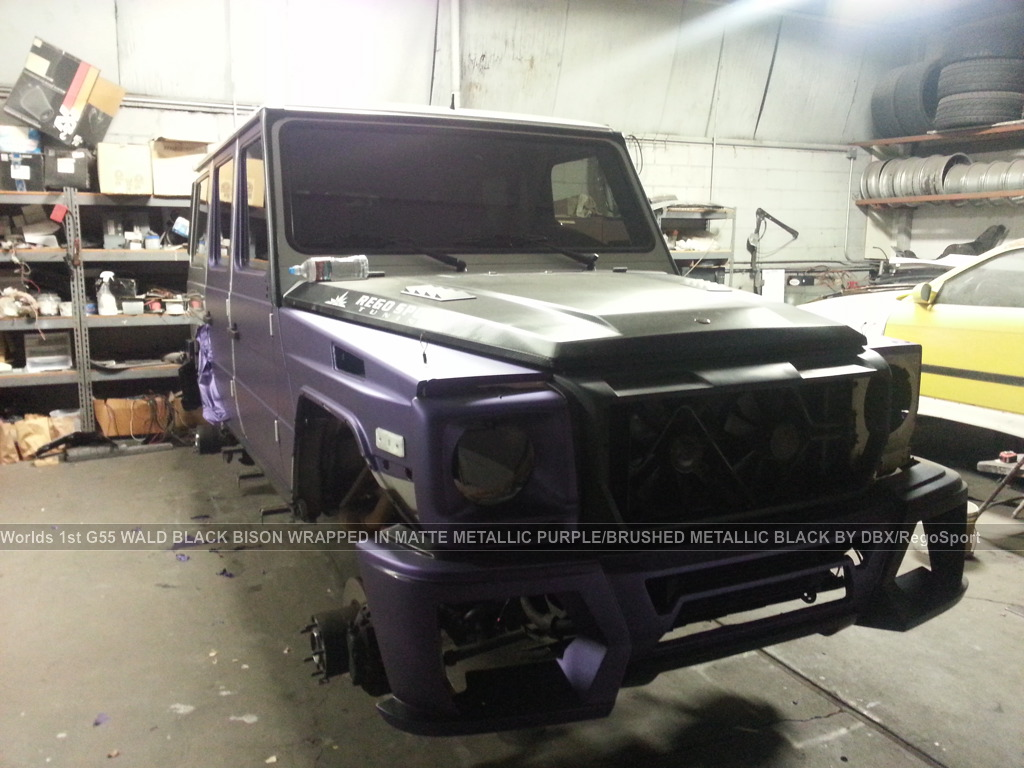 Mercedes benz g55 amg black bison by wald for International mercedes benz