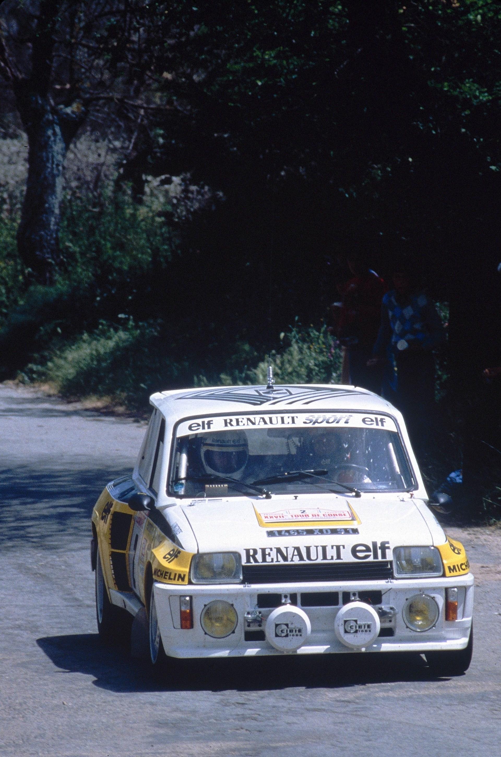 """1983 - Renault 5 Turbo """"Tour de Corse"""" Heuliez"""