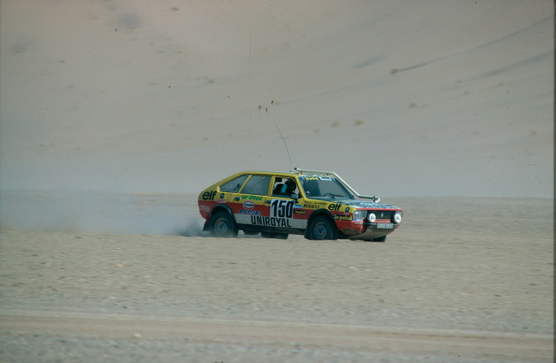 1982 - Renault 20 Turbo 4X4 Paris-Dakar