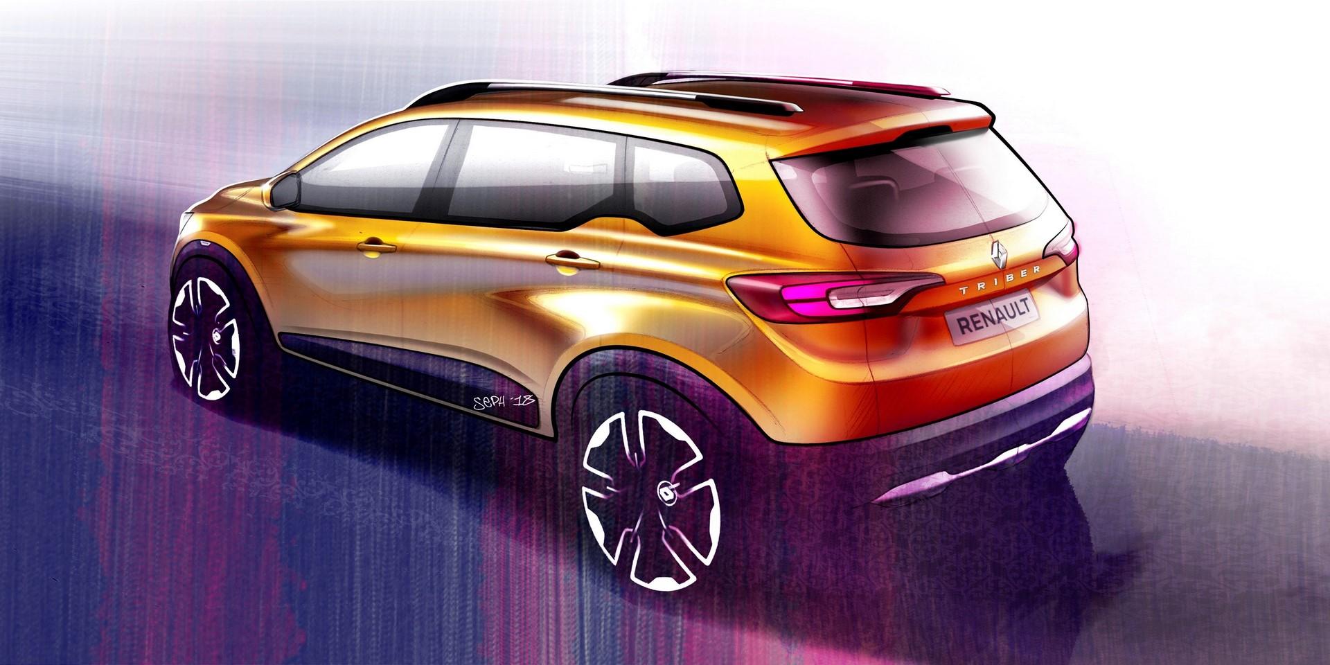 2019 - Nouveau Renault TRIBER