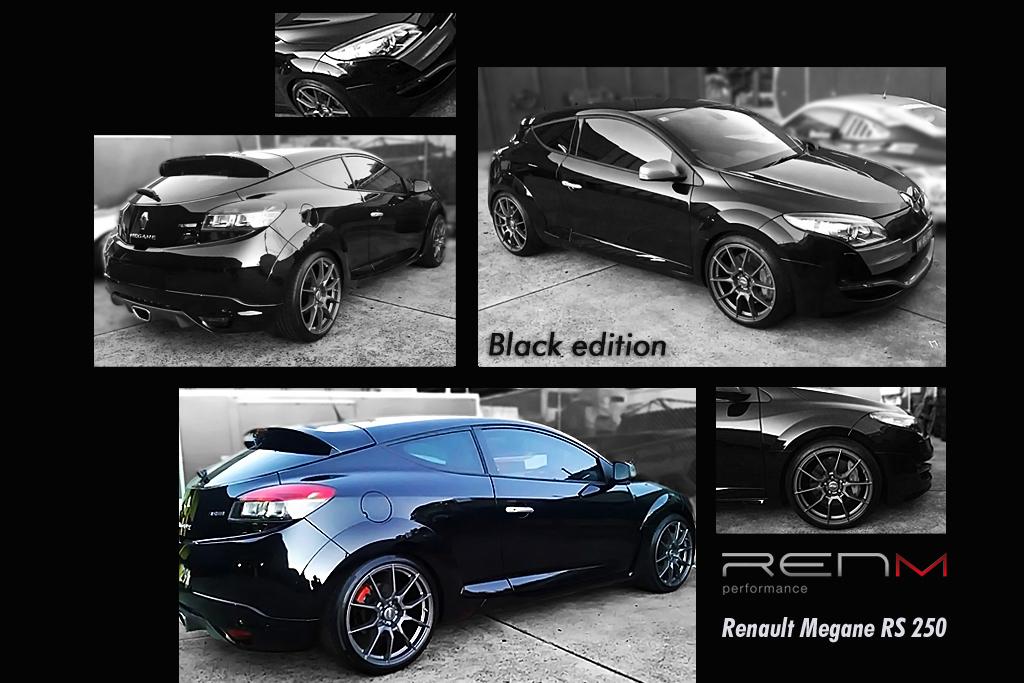 renm renault megane rs250 black edition. Black Bedroom Furniture Sets. Home Design Ideas
